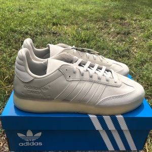 Adidas Samba RM Shoes Clear Brown/Beige Men's 10